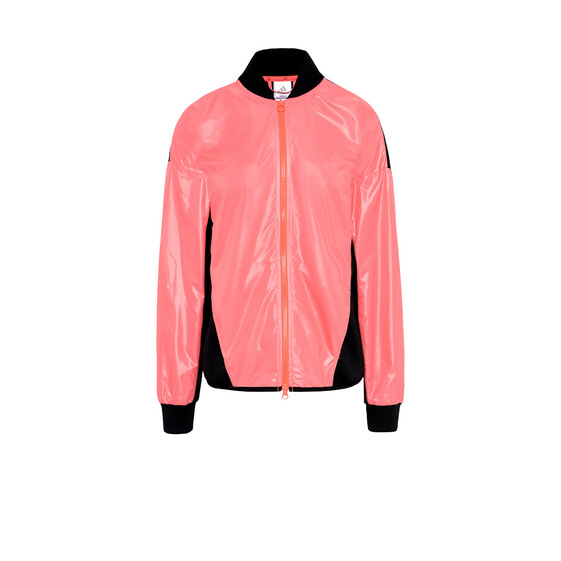 Flash red bomber jacket