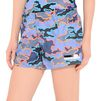 ADIDAS by STELLA McCARTNEY Indigo Camo woven shorts StellaSport Bottoms D a