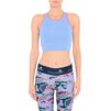 ADIDAS by STELLA McCARTNEY Neon blue cropped bra StellaSport Bras D d