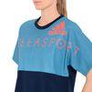 ADIDAS by STELLA McCARTNEY Cropped logo t-shirt StellaSport Topwear D a