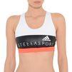 ADIDAS by STELLA McCARTNEY White logo print Sports Bra StellaSport Bras D a