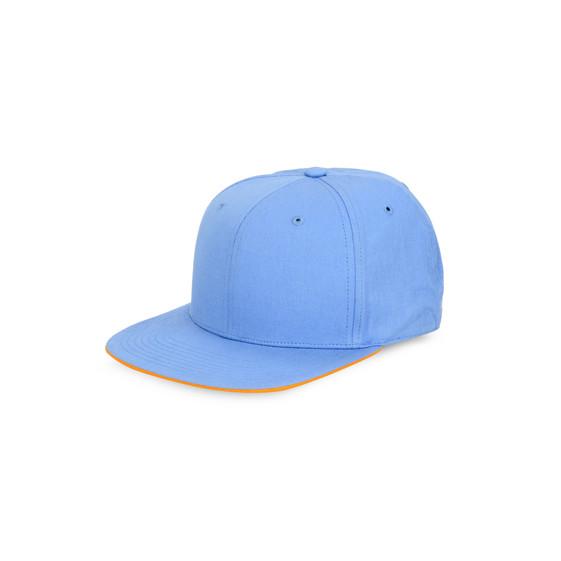 Casquette bleu néon
