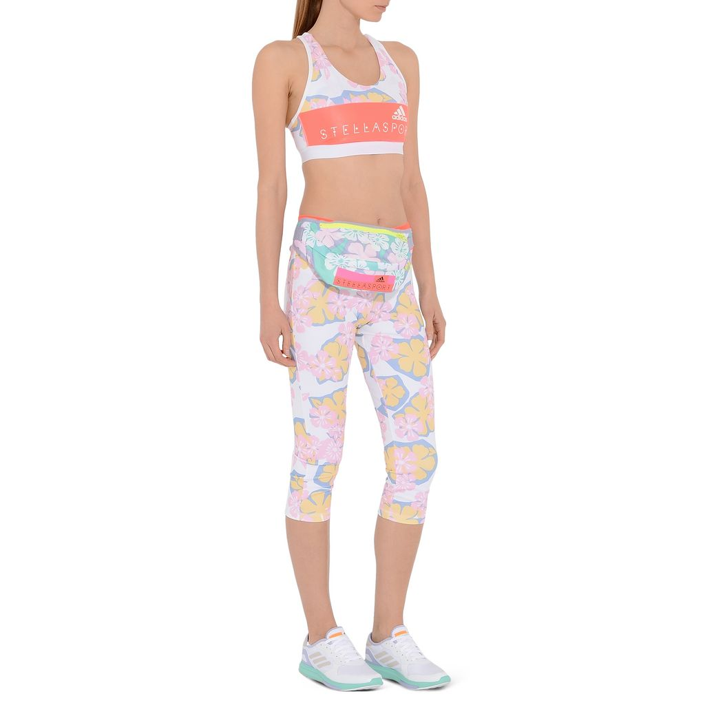 Hawaiian print Sports Bra - ADIDAS by STELLA McCARTNEY