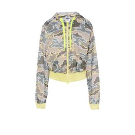 ADIDAS by STELLA McCARTNEY StellaSport Sweater D Khaki Camo Jacket f