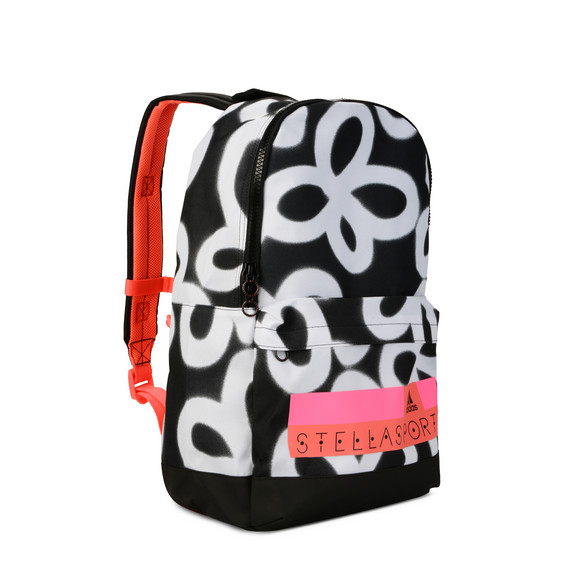 Graphic floral print backpack