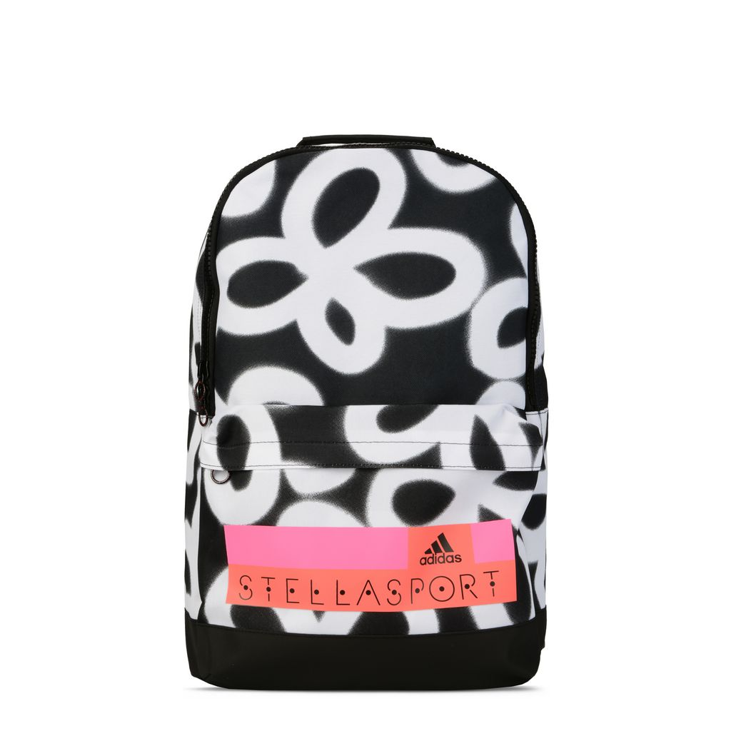 Graphic floral print backpack - ADIDAS by STELLA McCARTNEY