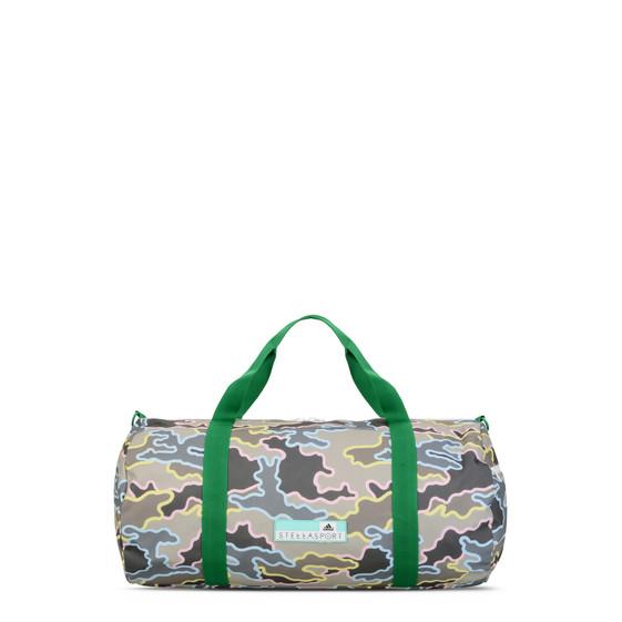 Khaki Camo print Sports Bag