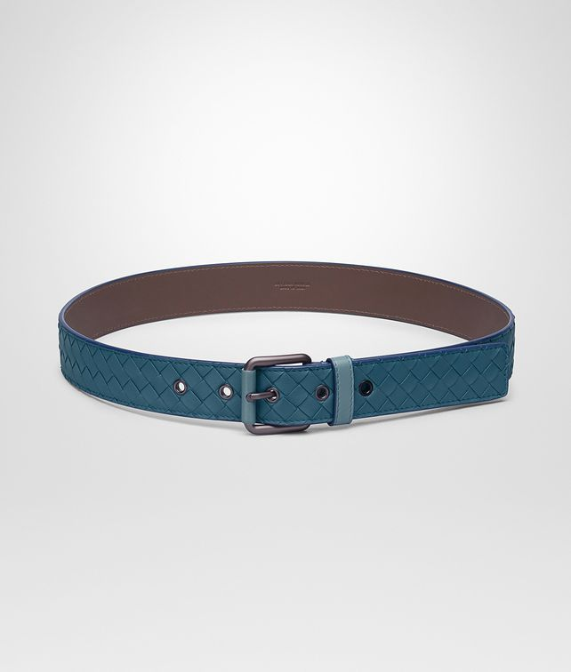 BOTTEGA VENETA BELT IN MULTICOLOR BRIGHTON INTRECCIATO NAPPA Belt Man fp