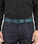 BOTTEGA VENETA BELT IN MULTICOLOR BRIGHTON INTRECCIATO NAPPA Belt Man ap