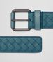 BOTTEGA VENETA BELT IN MULTICOLOR BRIGHTON INTRECCIATO NAPPA Belt Man rp