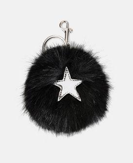 Fur Free Fur-Schlüsselanhänger mit Stern