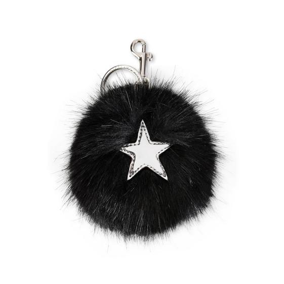 Fur Free Fur Star Keychain