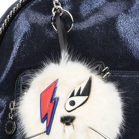 Fur Free Fur Cat Keychain