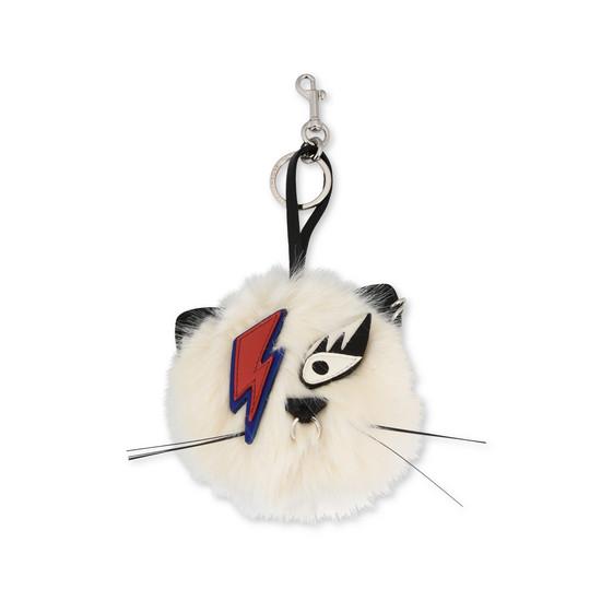 Fur Free Fur-Schlüsselanhänger mit Katze