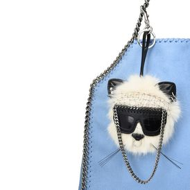 Fur Free Fur Cat Keychain