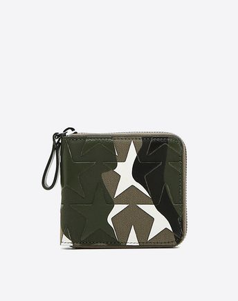 VALENTINO Camustars Long Zipper Wallet 46490765JU