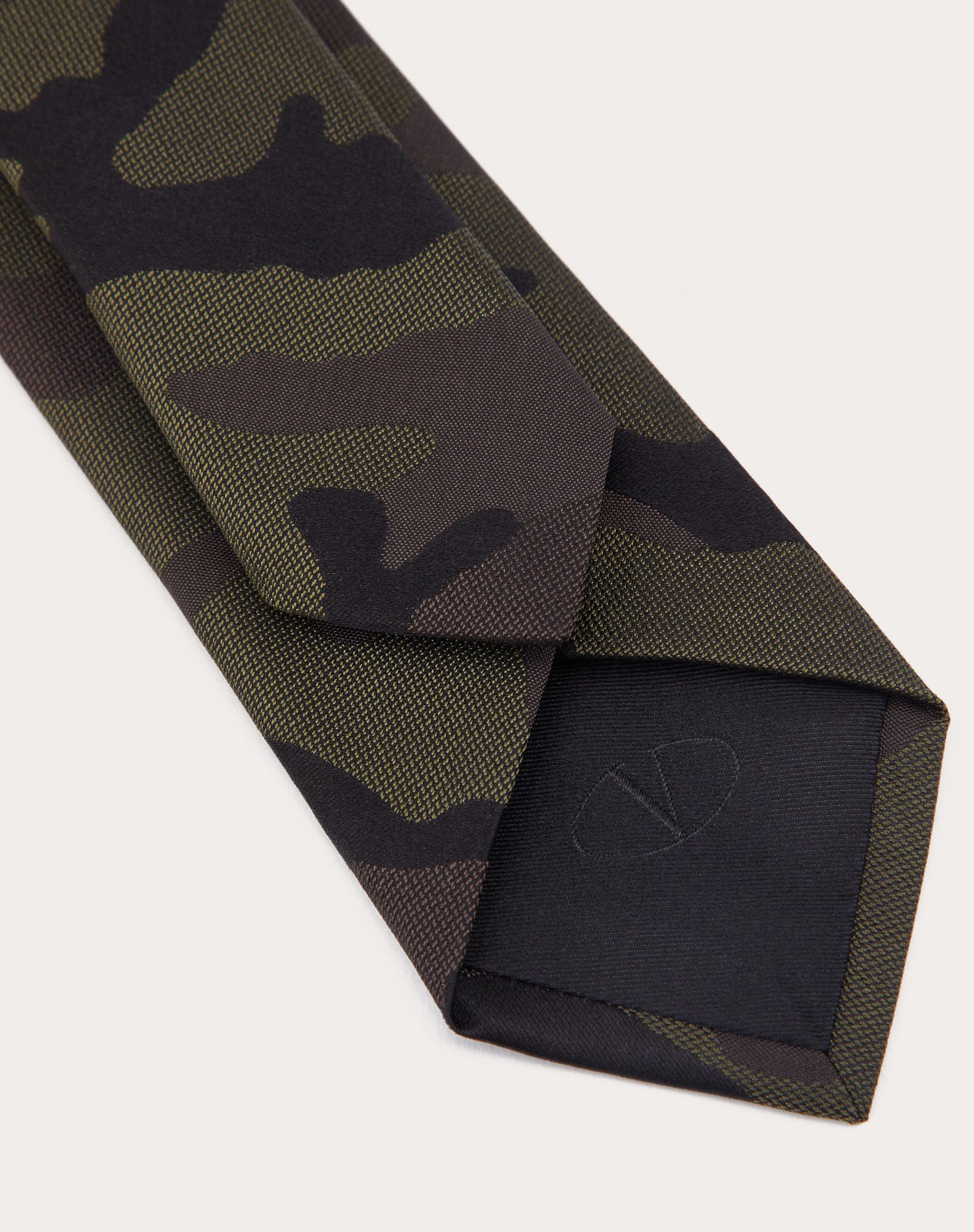 VALENTINO SETA Jacquard Tie Tie U d