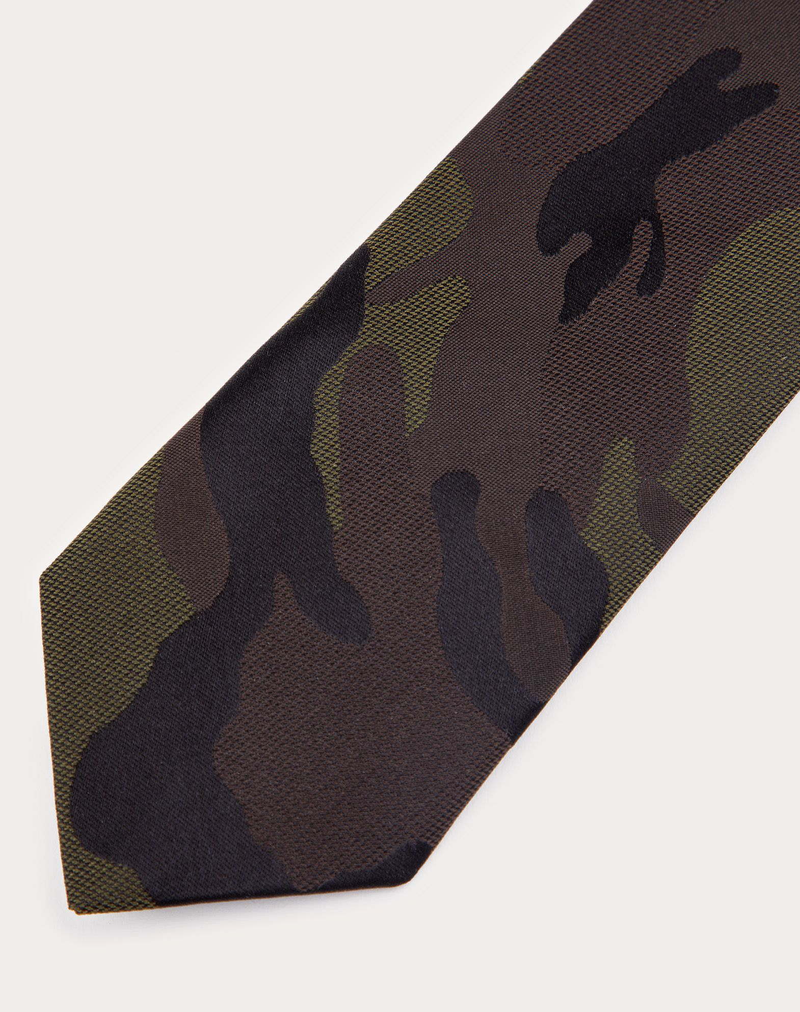 VALENTINO SETA Jacquard Tie Tie U r