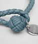 BOTTEGA VENETA BRACELET IN AIR FORCE BLUE INTRECCIATO NAPPA Keyring or Bracelets E ap