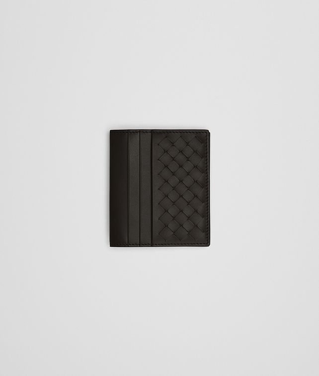 BOTTEGA VENETA WALLET IN ESPRESSO INTRECCIATO VN Small Wallet Man fp
