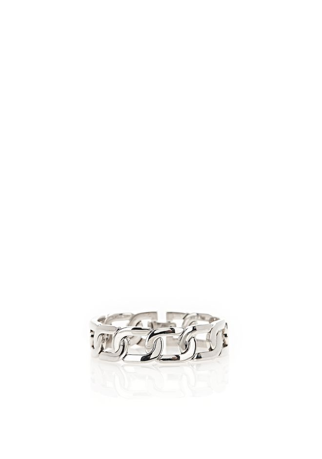 ALEXANDER WANG jewelry RHODIUM CURB CHAIN BRACELET