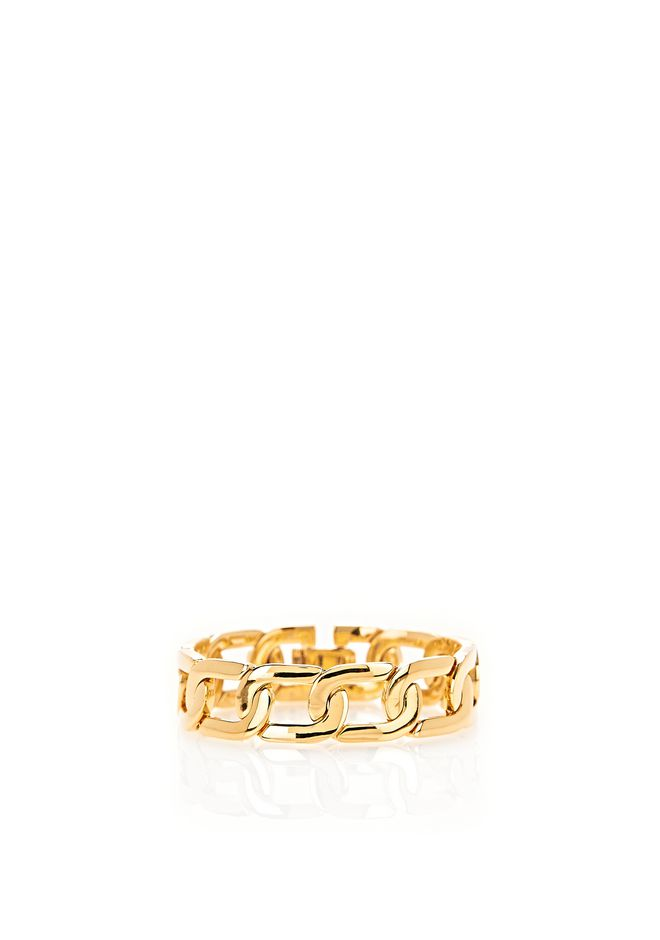 ALEXANDER WANG exclusives EXCLUSIVE YELLOW GOLD CURB CHAIN BRACELET