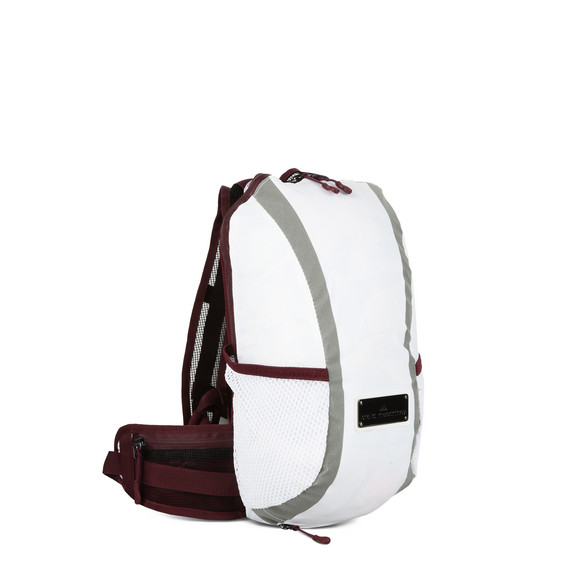 White Small Run Backpack
