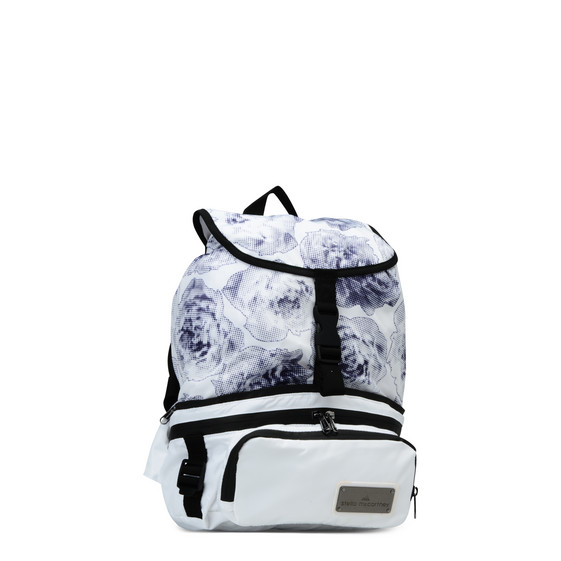 Run Convertible Floral Print Backpack