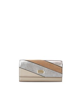 KARL LAGERFELD K/THUNDER CONTINENTAL WALLET