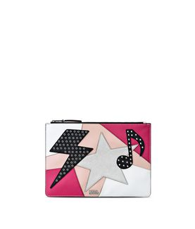 KARL LAGERFELD K/PATCHWORK POUCH