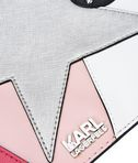 KARL LAGERFELD K/PATCHWORK POUCH 8_e