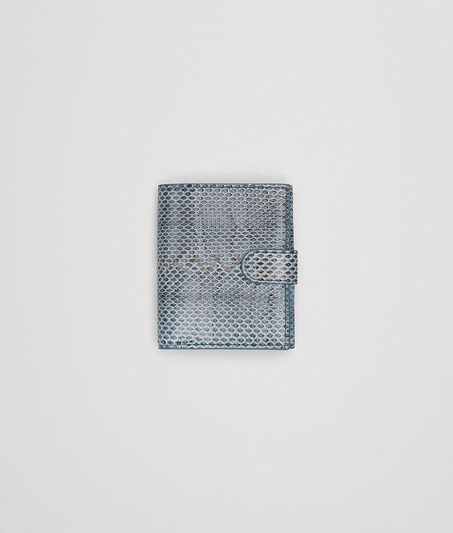 BOTTEGA VENETA AIR FORCE BLUE AYERS MINI WALLET Mini Wallet or Coin Purse D fp