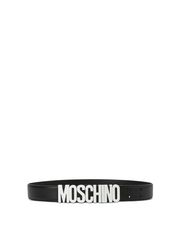 Leather Belt Man MOSCHINO