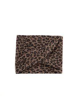 LEOPARD ENDLESS SCARF