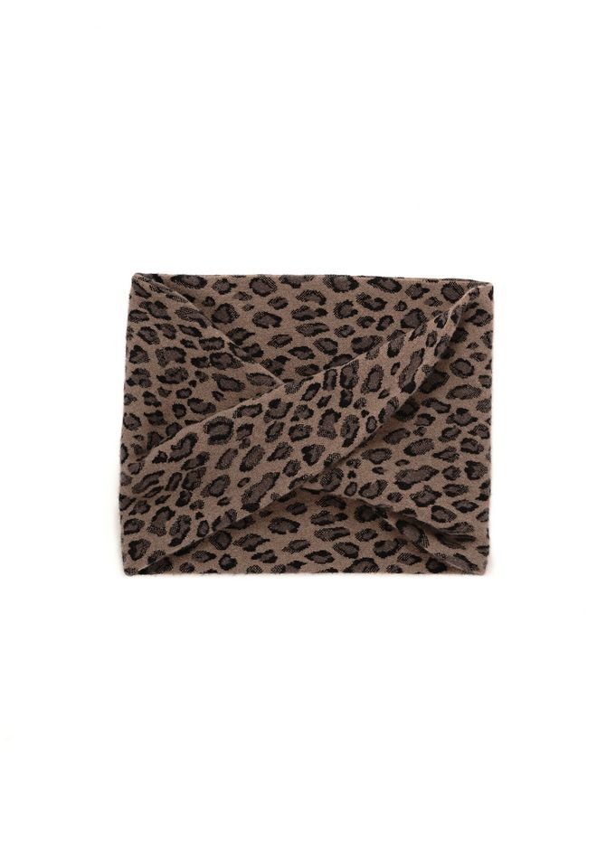 ALEXANDER WANG new-arrivals-accessories-woman LEOPARD ENDLESS SCARF