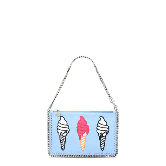 Sky Blue Falabella Ice Cream Purse