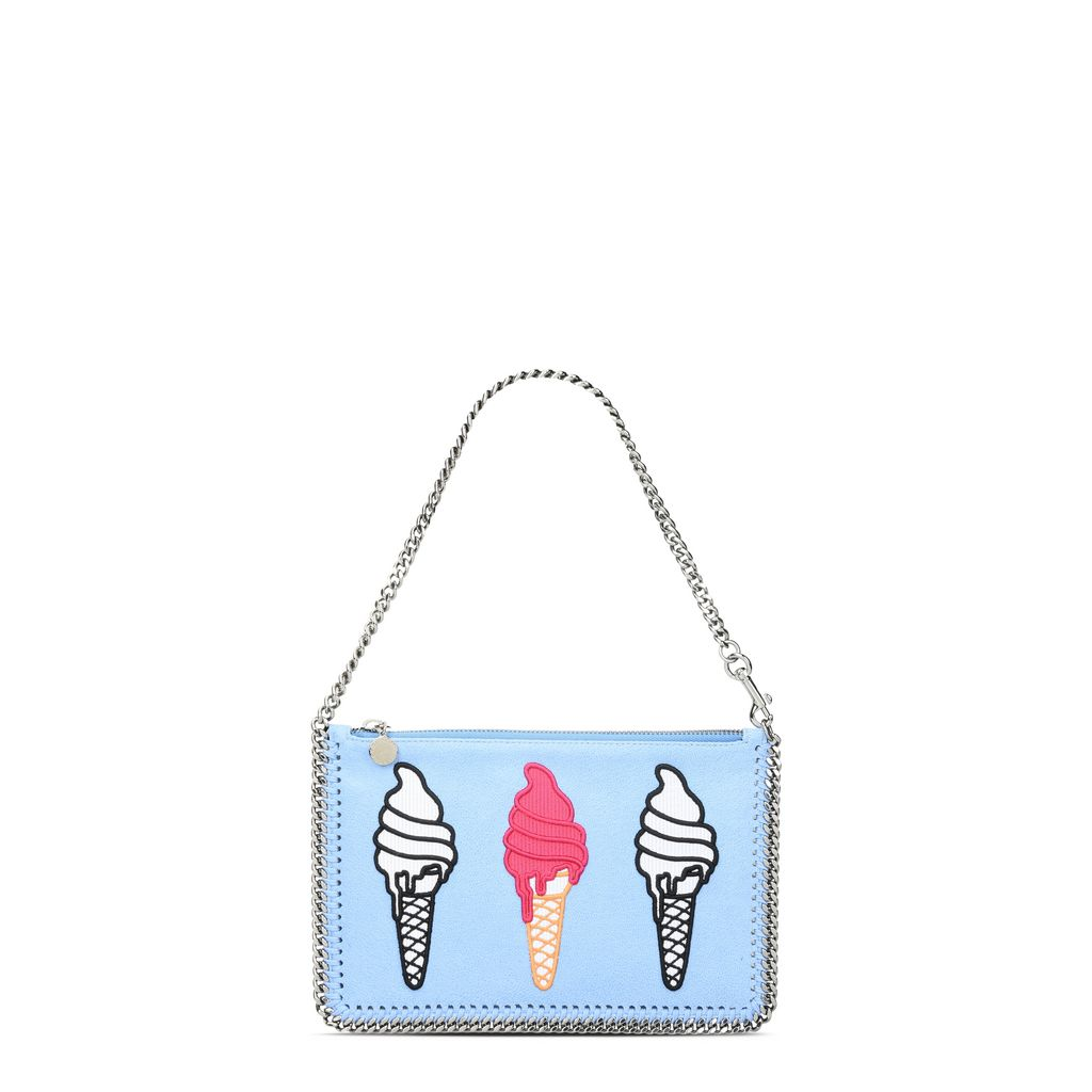 Sky Blue Falabella Ice Cream Purse - STELLA MCCARTNEY