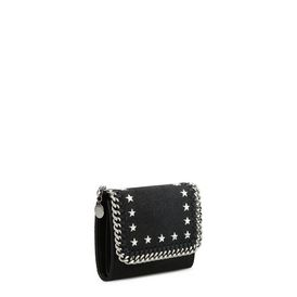 All Over Studs Small Flap Wallet