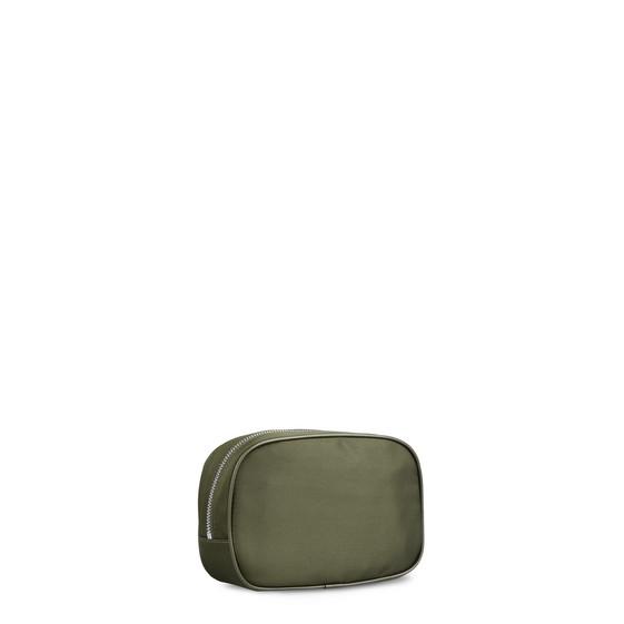 Khaki Falabella GO Cosmetic Case