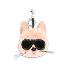 STELLA McCARTNEY Other accessories D Fur Free Fur Pink Rabbit Keychain f