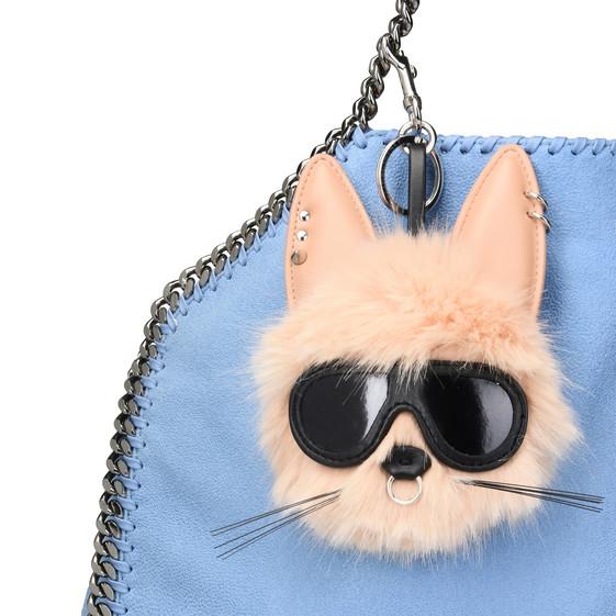 Fur Free Fur Pink Rabbit Keychain