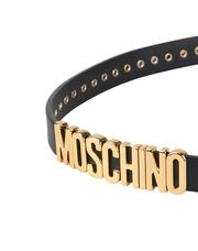 MOSCHINO Leather Belt Woman d