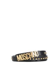 MOSCHINO Leather Belt Woman r