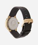 KARL LAGERFELD Joleigh Gold Black Leather 8_e