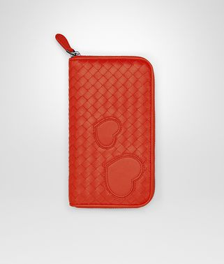 ZIP AROUND WALLET IN VESUVIO INTRECCIATO NAPPA LEATHER