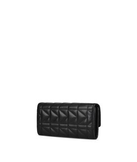 KARL LAGERFELD K/KUILTED CONTINENTAL WALLET