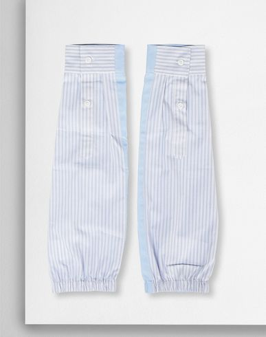 MM6 by MAISON MARGIELA Striped sleeves Sleeves D f