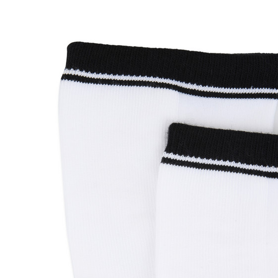 White Barricade Socks