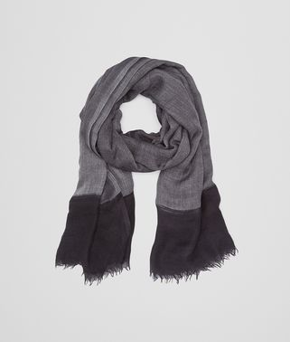SCARF IN ANTHRACITE BLACK        CASHMERE SILK