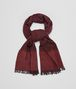 BOTTEGA VENETA SCARF IN AMARANTH ORANGE WOOL CASHMERE Scarf or other U fp